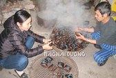 Ngọt ngào bánh gấc Ninh Giang