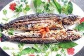 Thơm ngon cá chuồn nướng