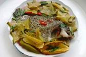 Cá rô kho khế, món ăn vị thuốc