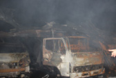 Cháy xưởng mút xốp rộng 1.400 m2, thiệt hại tiền tỉ