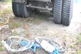 Xe tải tông xe đạp, một thanh niên chết tại chỗ