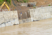 Lũ sông Hồng ở Lào Cai đang lên nhanh
