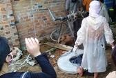 Phát hiện xác phụ nữ dưới đáy giếng