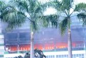 Cháy tại Pou Yuen: 8.000 công nhân nghỉ 3 ngày
