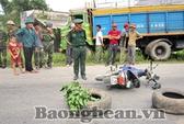 Va xe tải, một sĩ quan quân đội tử nạn