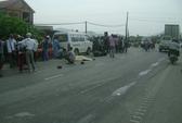 Qua đường thiếu quan sát, một phụ nữ bị xe tải tông chết