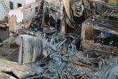 Cháy hơn 2 giờ, nhà kho công ty sơn bị thiêu rụi
