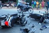 Xe máy tông nhau, 1 người tử nạn