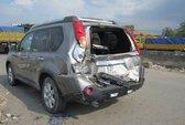 Mất lái, xe tải gây tai nạn liên hoàn