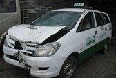 Taxi lấn đường, tông chết người