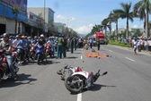Bị xe tải tông từ phía sau, 2 nữ sinh chết thảm