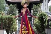 Hoa hậu Hoàn vũ: Áo dài Việt Nam gây ấn tượng