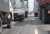 Giữa năm 2013, đại lộ Đông Tây hết lún