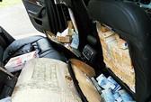 Giấu hơn 1,8 triệu euro trong ghế xe hơi
