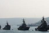 Tàu chiến Nga đổ về ngoài khơi Syria