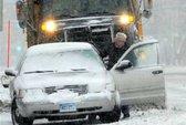 Mỹ đối mặt trận bão tuyết lịch sử