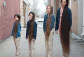 Bốn mẹ con sở hữu mái tóc dài kỷ lục