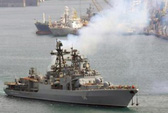 Nga tập trận bắn đạn thật ở biển Đông