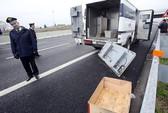 Táo tợn cướp xe tiền trên đường cao tốc