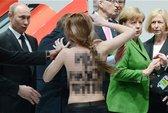 """Đến lượt ông Putin đối mặt với """"ngực trần"""""""