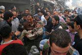 Quân đội Syria không kích trên cả nước