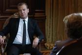 """Medvedev: Phương Tây hành xử """"như bò"""" ở Trung Đông"""