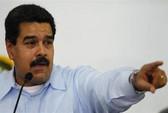 Mỹ cấm chuyên cơ của tổng thống Venezuela