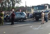 Xe du lịch đâm xe tải, 3 người chết, 3 bị thương