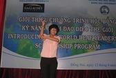 ĐỒNG NAI: Cô gái khiếm thính nhận học bổng thạc sĩ của Mỹ