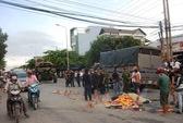 Va chạm với xe quân đội, 1 thanh niên chết tại chỗ