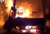 Cháy xe khách, 44 người thiệt mạng