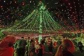 Trang trí 502.165 bóng đèn cho Giáng sinh