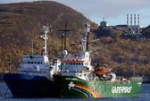 Nga thu giữ ma túy trên tàu Hòa bình xanh