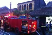 Cháy nhà trong phố cổ Hội An, cả gia đình bỏng nặng