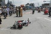 Xe tải cán chết nữ sinh viên ĐH Ngân Hàng