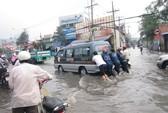 Mới sau một cơn mưa, Sài Gòn mênh mông nước