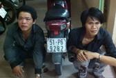 CSGT bắt cướp