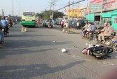 Một phụ nữ bị thương nặng trong vụ tai nạn gây nhiều tranh cãi