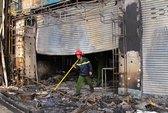 TPHCM: Cháy lớn tại trung tâm điện máy Sony và Trust Bank