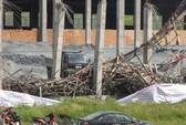Sập công trình nhà máy giấy, 1 người chết, 17 người bị thương