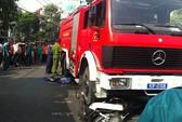 TPHCM: Xe cứu hỏa cán chết người