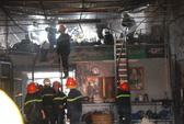TPHCM: Cháy xưởng tân trang xe Vespa