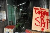 TP HCM: Cháy nhà trong chợ Vườn Chuối