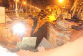 Sập công trình cống thoát nước, ba công nhân bị vùi chết