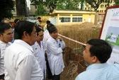 Giám sát việc xử lý nước thải ở bệnh viện