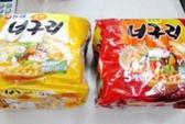 Việt Nam thu hồi 2 mì Hàn Quốc có chất gây ung thư