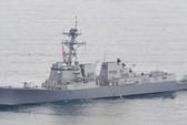 Tàu khu trục mang tên lửa Mỹ đang đến Philippines