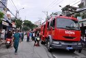 TP HCM: Cháy nhà tại Cư xá Phú Lâm