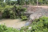 Vụ nữ sinh viên tử nạn do nước cuốn: Hiện trường thay đổi