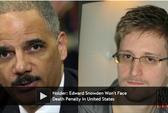 Mỹ hứa không tử hình, không tra tấn Snowden